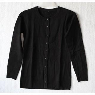 Harga Promo Baju Cardigan Sweater Knitted Lengan Panjang Kerah Bulat  Spandex Murah Batik Perempuan 177396504b