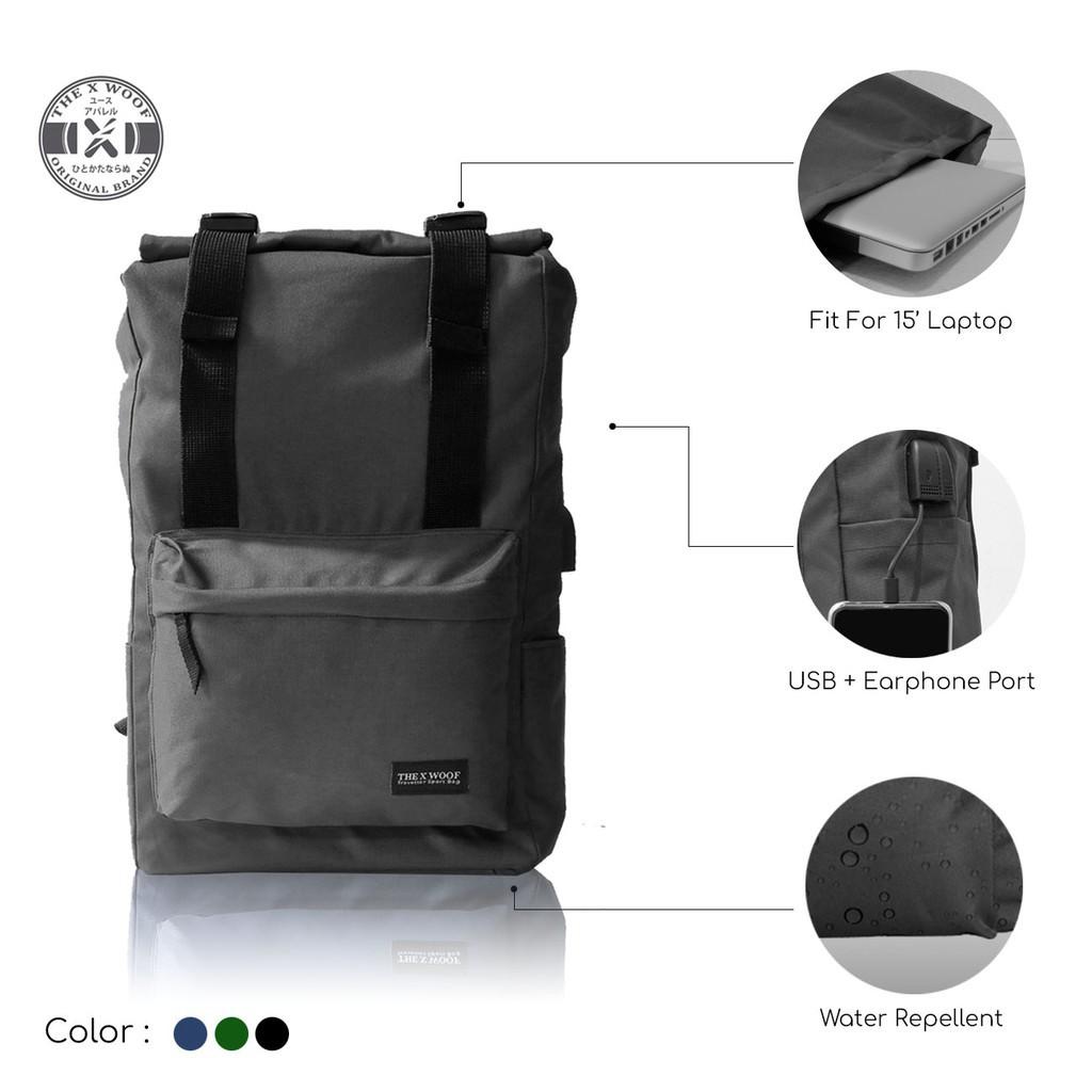 b73fef44e77 Produk Baru Ransel Anti Air Bisa Dilipat Jadi Duffel Bag / Tas Gym  Waterproof Tas Punggung Murah   Shopee Indonesia