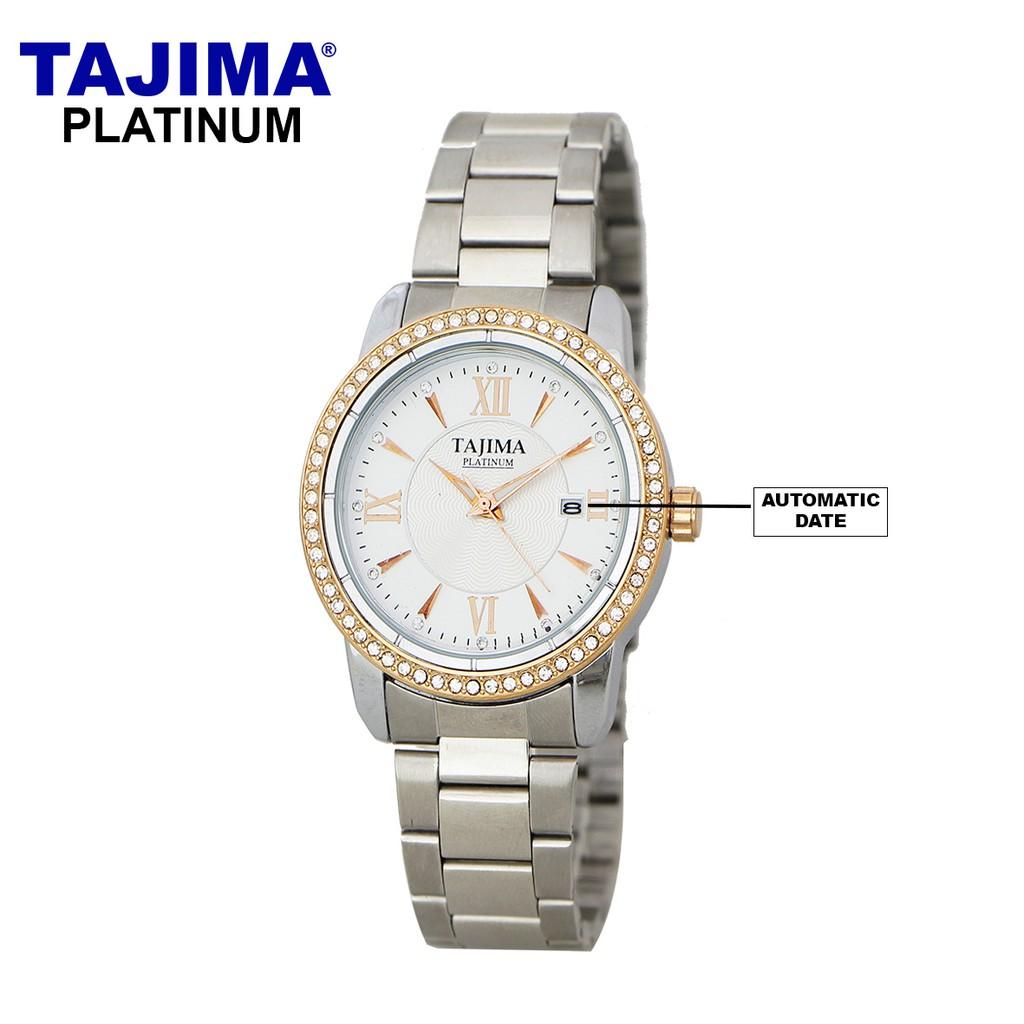 Tajima Analog Watch Date 3099 Leather Date Jam Tangan Kulit Pria | Shopee Indonesia