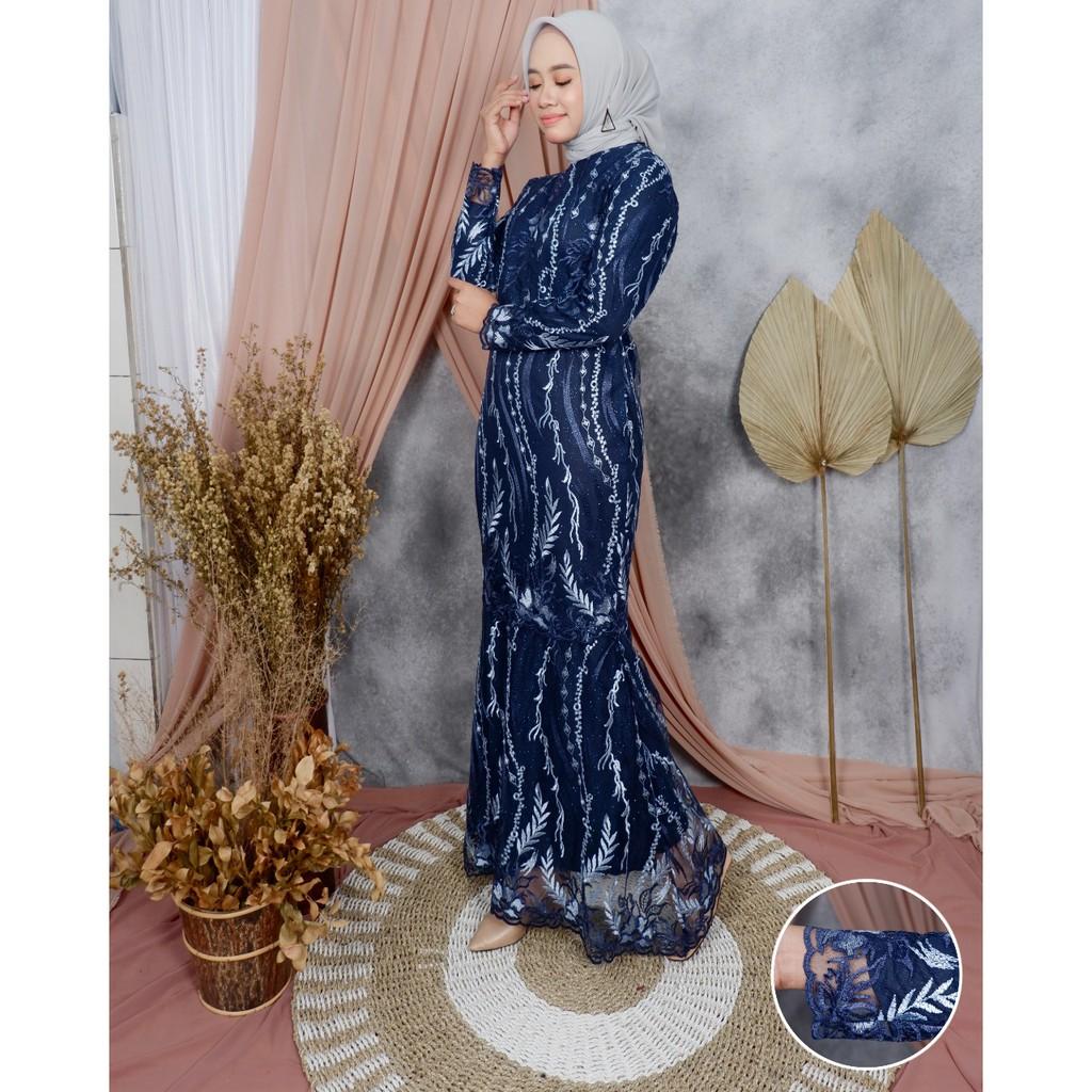 Jan Wow Terbaru Gamis Duyung Tulle Inaya Gamis Pesta Gamis Wisuda Gamis Kondangan Cantik Shopee Indonesia
