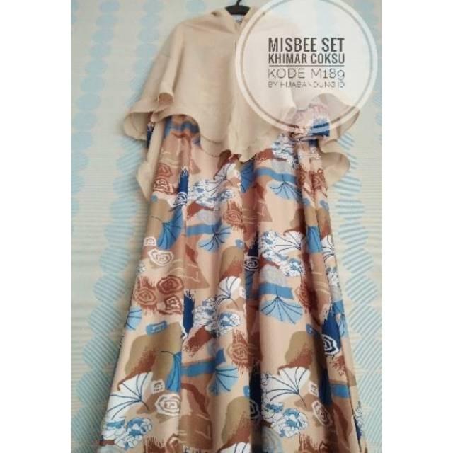 Gamis Misbee Set Rp. 80.000/ Gamis Syar'i Misbee Set/ Gamis Syar'i Misby Murah | Shopee Indonesia