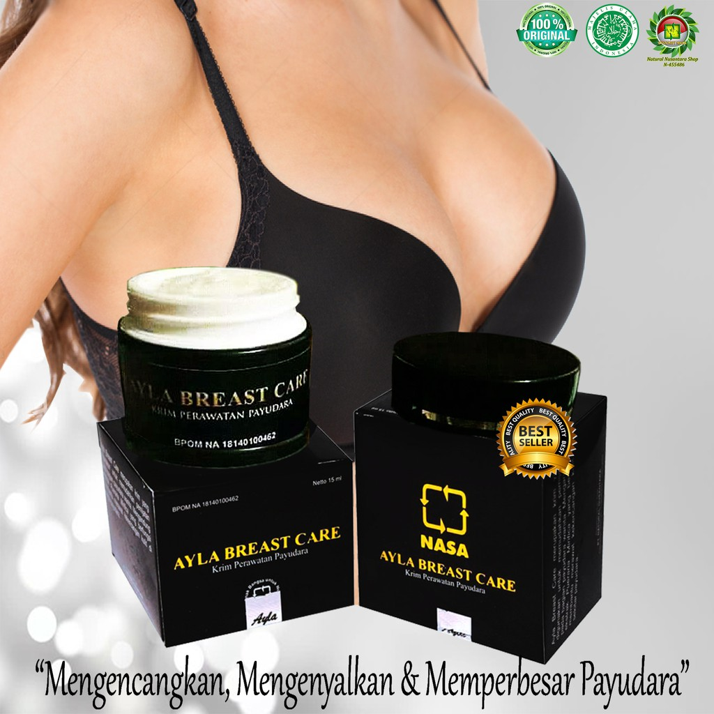 ((Original))Ayla Breast Care dari PT NASA | Krim Pengencang Payudara | Shopee Indonesia