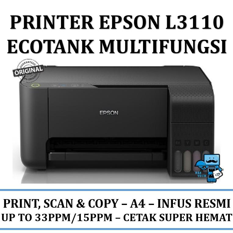 Printer Epson L3110 EcoTank Multifungsi - All-in-One Ink Tank Printer