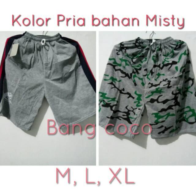 Celana Pendek / Kolor Pria / Celana Pria / Bahan misty | Shopee Indonesia