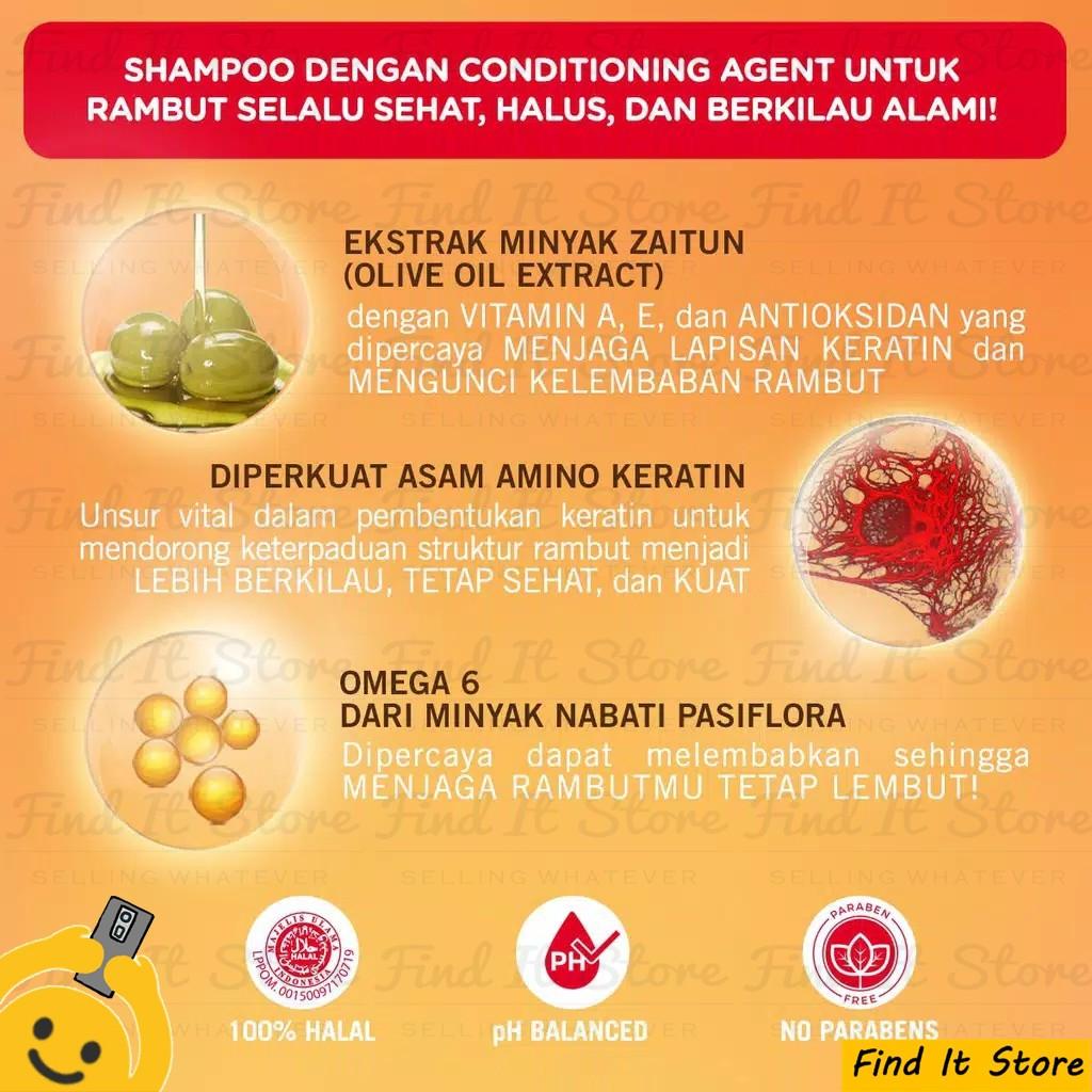 Makarizo Hair Energy Fibertherapy Conditioning Shampoo 10ml 10 ml Sampo Pembersih Rambut 2in1-4