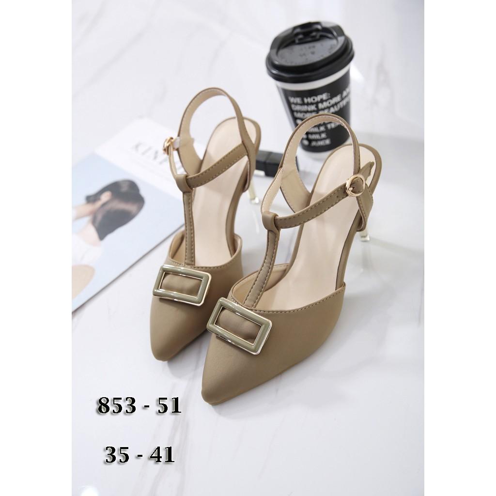 RESTOCK LAGI Sepatu Import L1-SQ35 Sepatu Heels Pesta Wanita ... 331f1a77f9