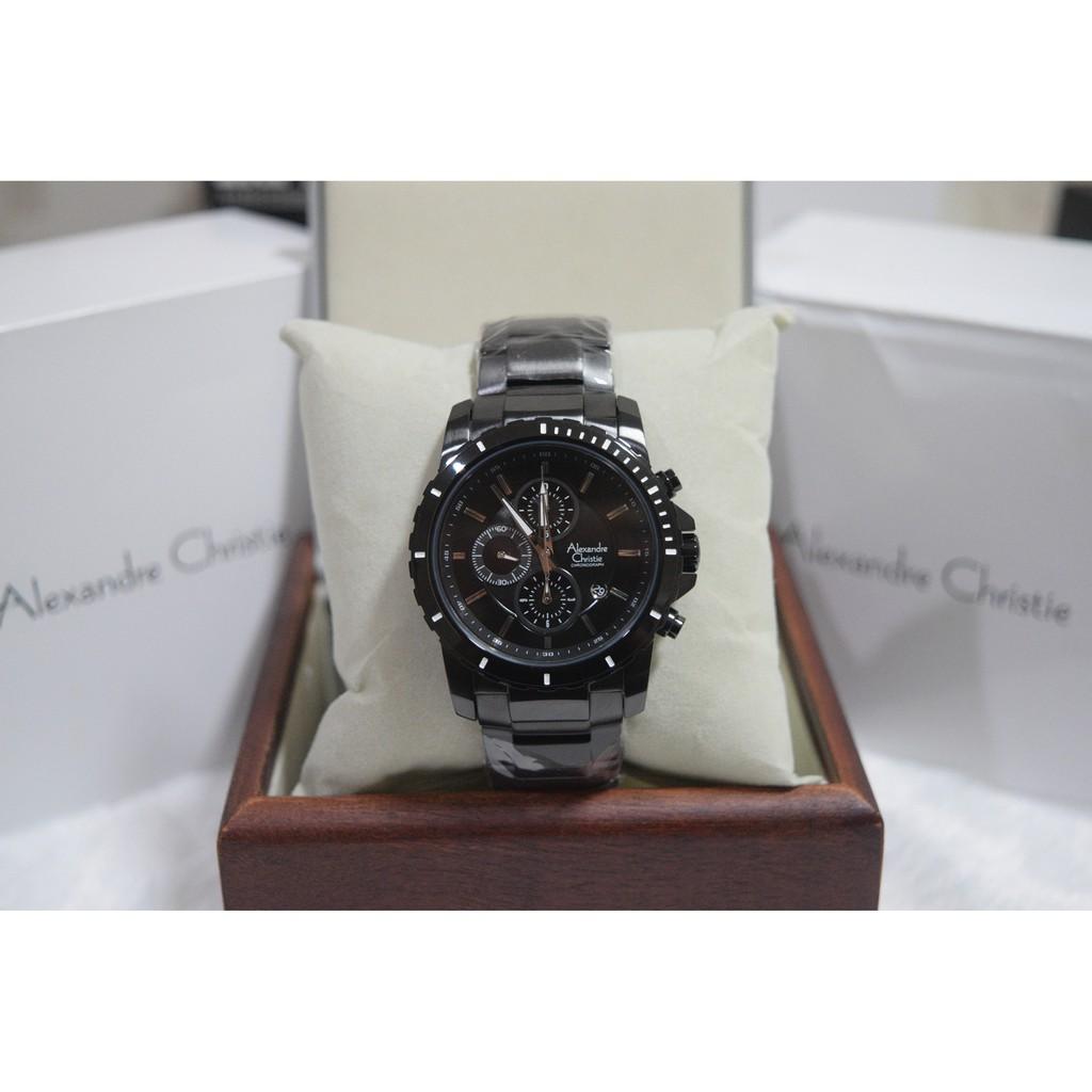 Alexandre Christie Ac 6141 Mc Bbrba Pria Original Garansi Resmi 1 6442 Rose Gold Black Thn Shopee Indonesia