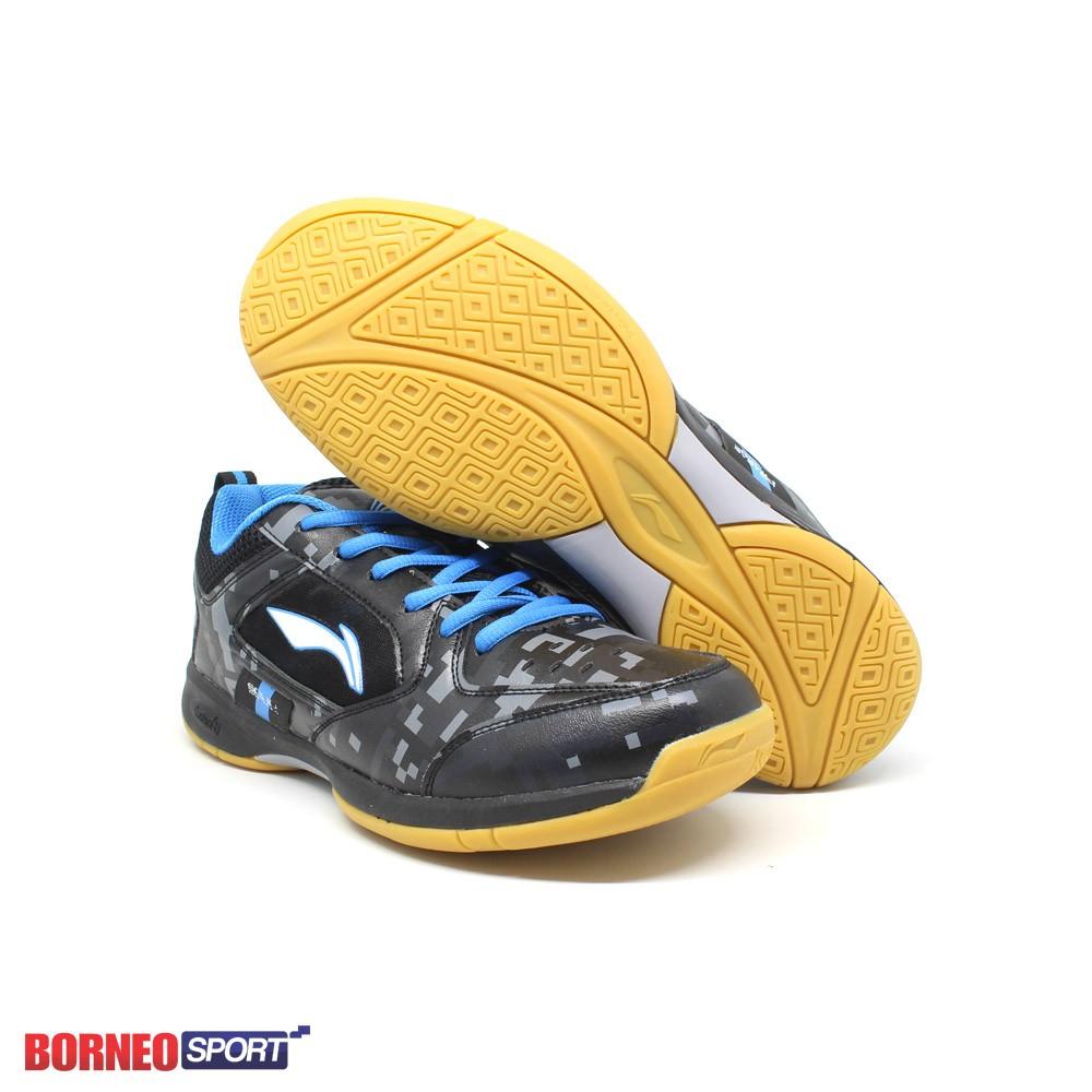 Sepatu Badminton Lining Aytm 033 Aytm033 Blue Neon Shopee Indonesia Bulutangkis Hart Hs 303