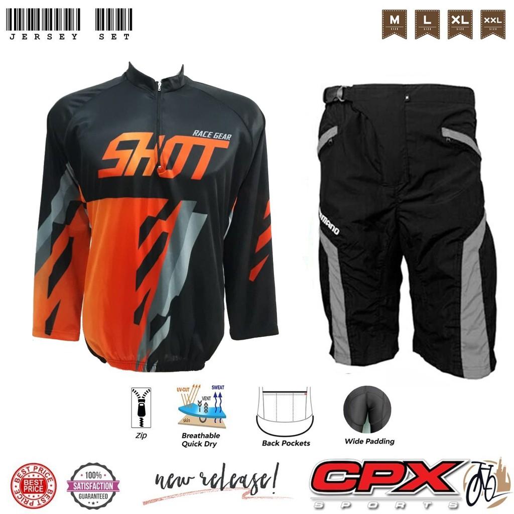 Paket Jersey Sepeda Plus celana sepeda padding Shopee
