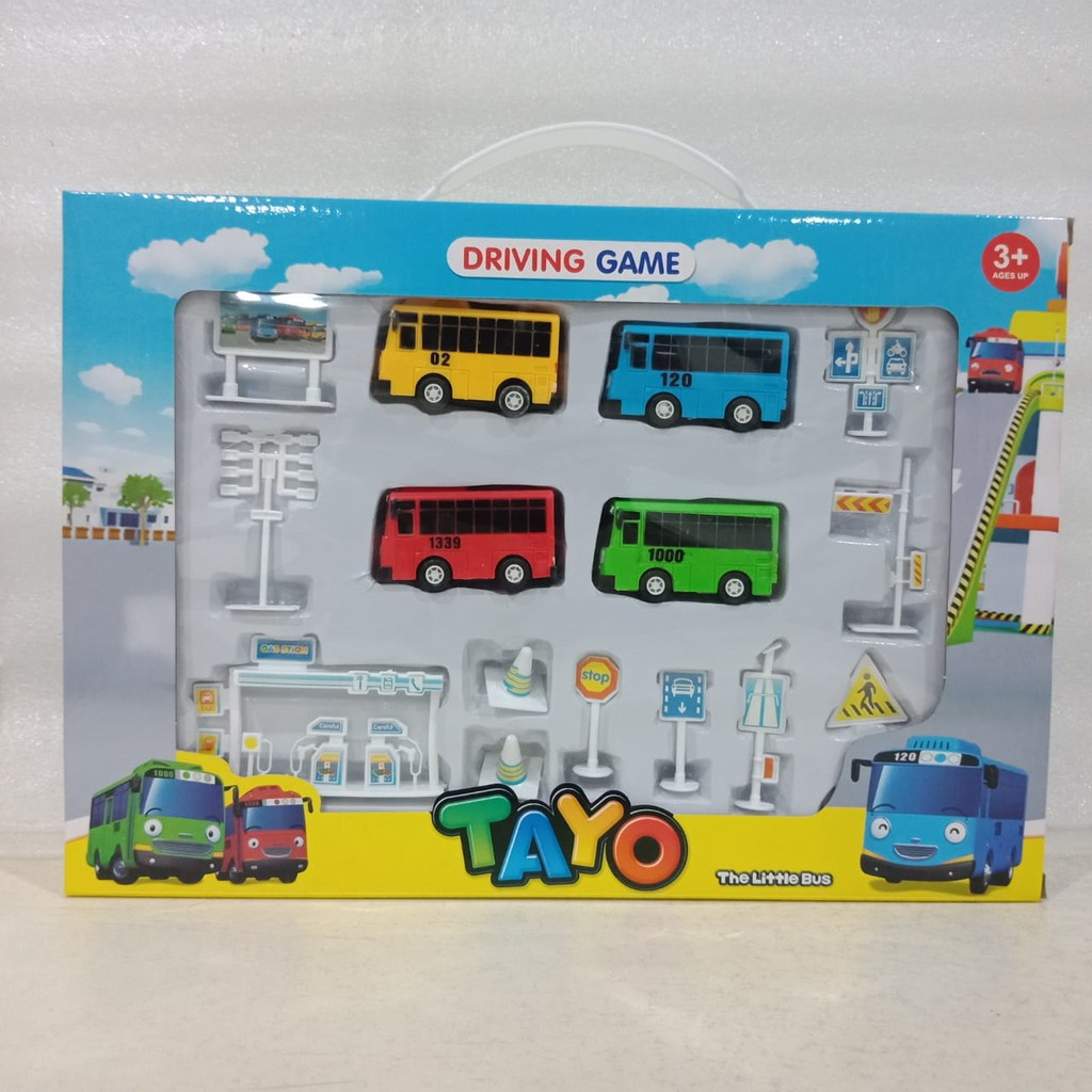 Mainan Tayo The Little Bus Driving Game 333 003a Shopee Indonesia