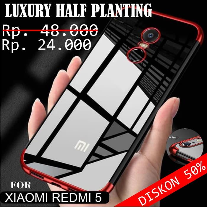 Xiaomi Redmi 5 Case Luxury Half Planting Premium Like Cafele ... 0fbe3b809a
