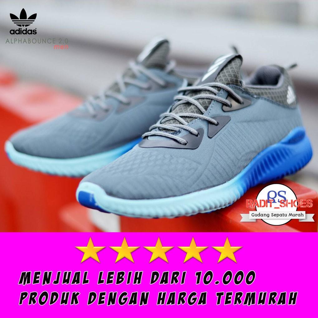 Promo Sepatu Adidas Neo City Racer Berkualitas Terbaru Termurah  Sneakers Olahraga Running Alpha Bounce Shopee Indonesia