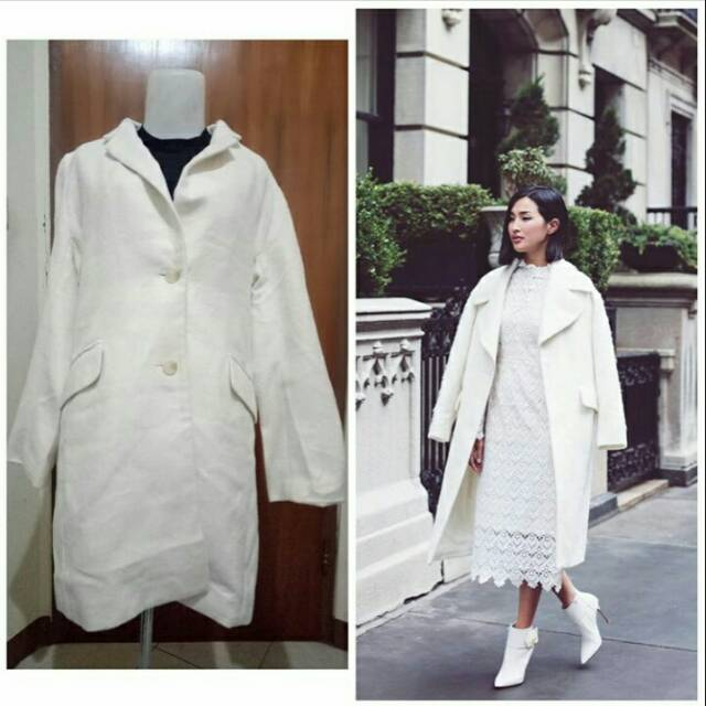 Preloved Wool Coat HK Works London
