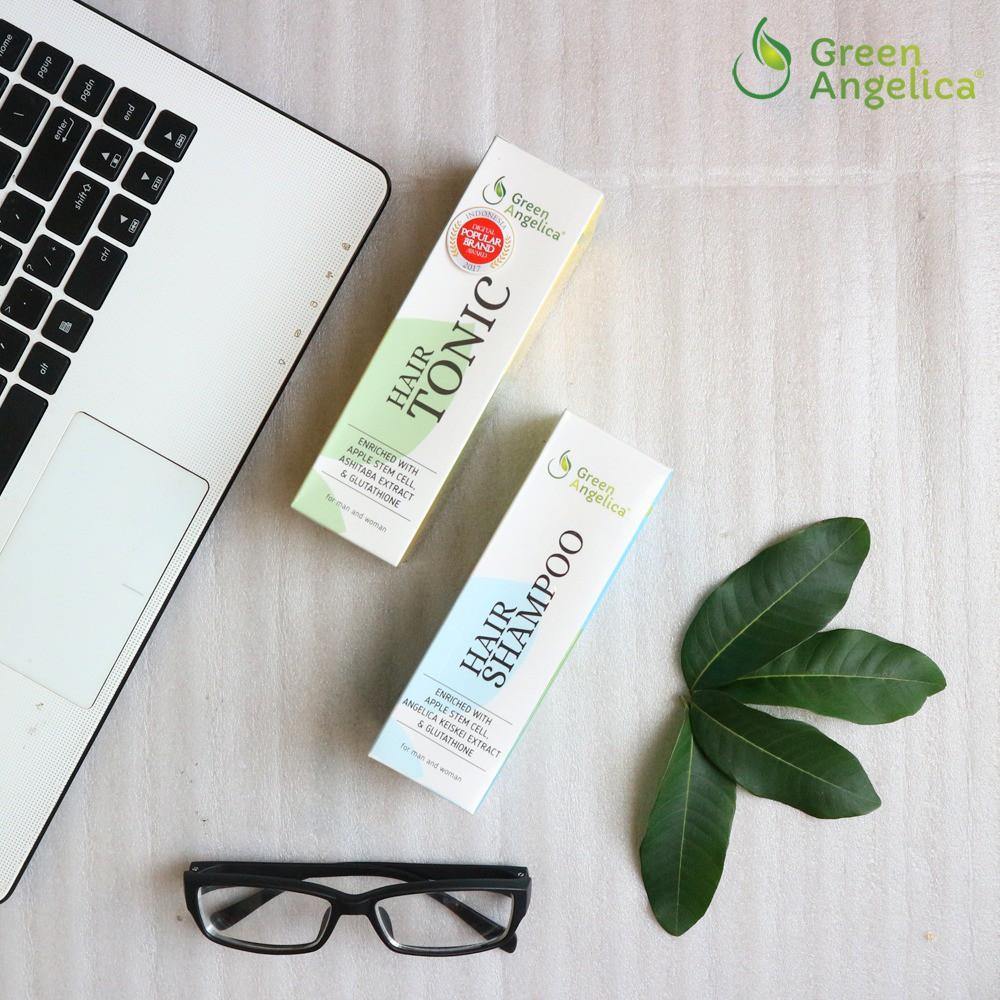 Green Angelica Paket Maximal Penumbuh Rambut Alami Obat Botak Cepat Gratis 1 Tas Cantik Rontok Herbal Menumbuhkan Shopee Indonesia