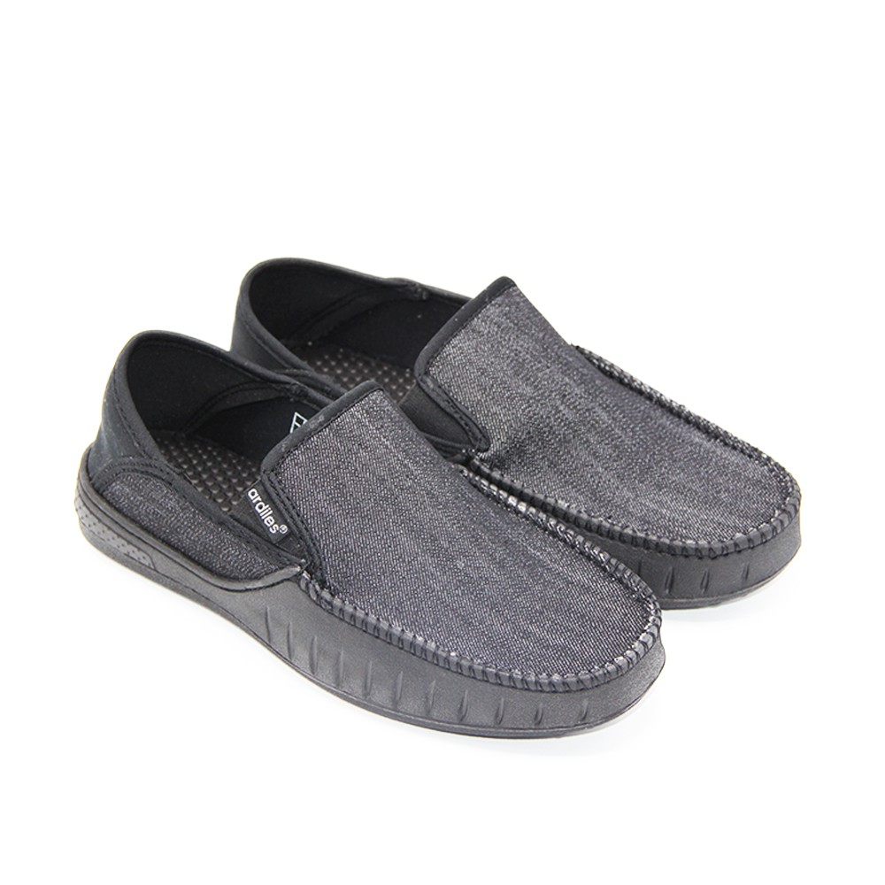 Ardiles Sepatu Pria Slip On Moccasin Nets Shopee Indonesia Men Articuno Running Shoes Grey Black