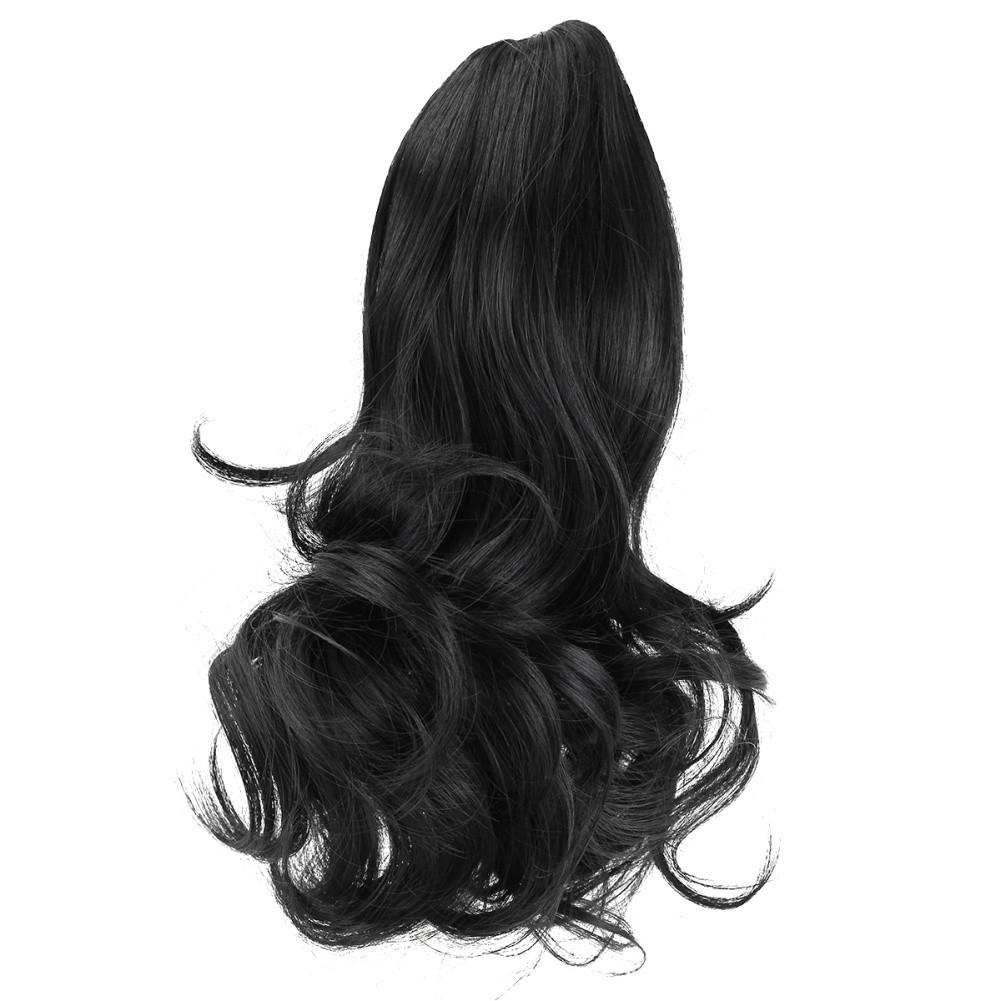 Bayar Di Tempat Rambut Palsu Full Model Bob Lurus Pendek untuk Pesta  Cosplay Wanita Warna Hitam  11f46d769c