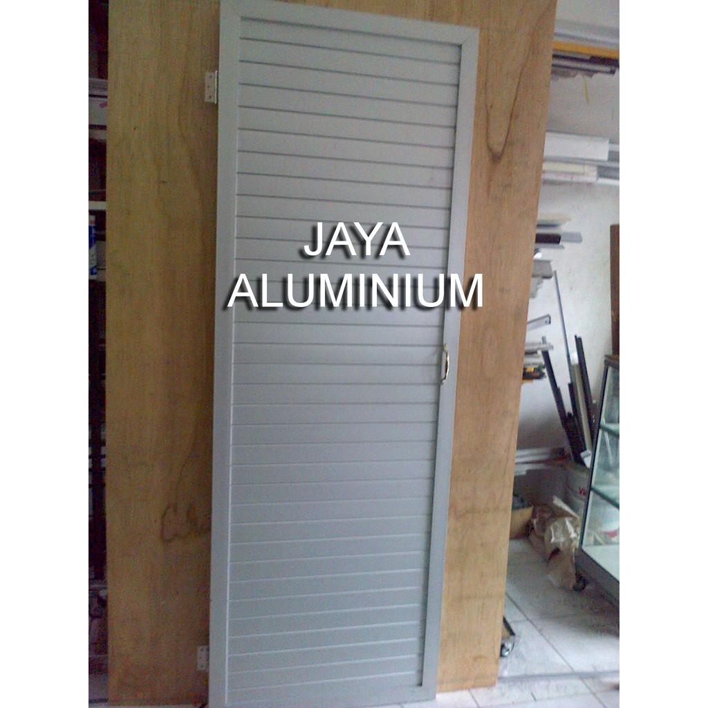 Pintu Kamar Mandi Aluminium Shopee Indonesia Pintu untuk kamar mandi