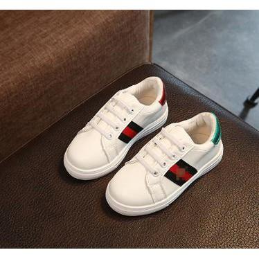 Hot Kekinian Keren Sepatu Anak Laki Laki Import Gucci Putih  a292091563