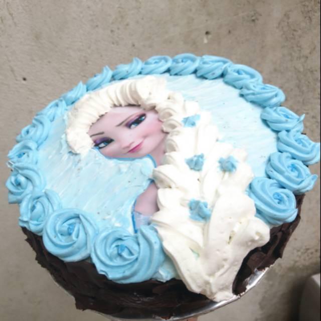 Kue Ulang Tahun Cake Ulang Tahun Cake Tart Kue Ultah Cake Ultah Frozen Elsa