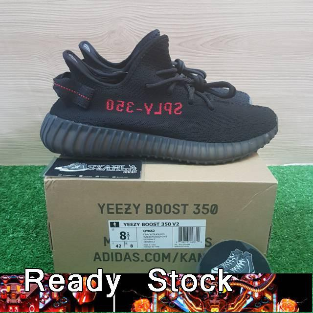 c4bf77717815a Adidas Yeezy Boost 350 V2 Sepatu Sneakers 100% 08 Kualitas Tinggi ...