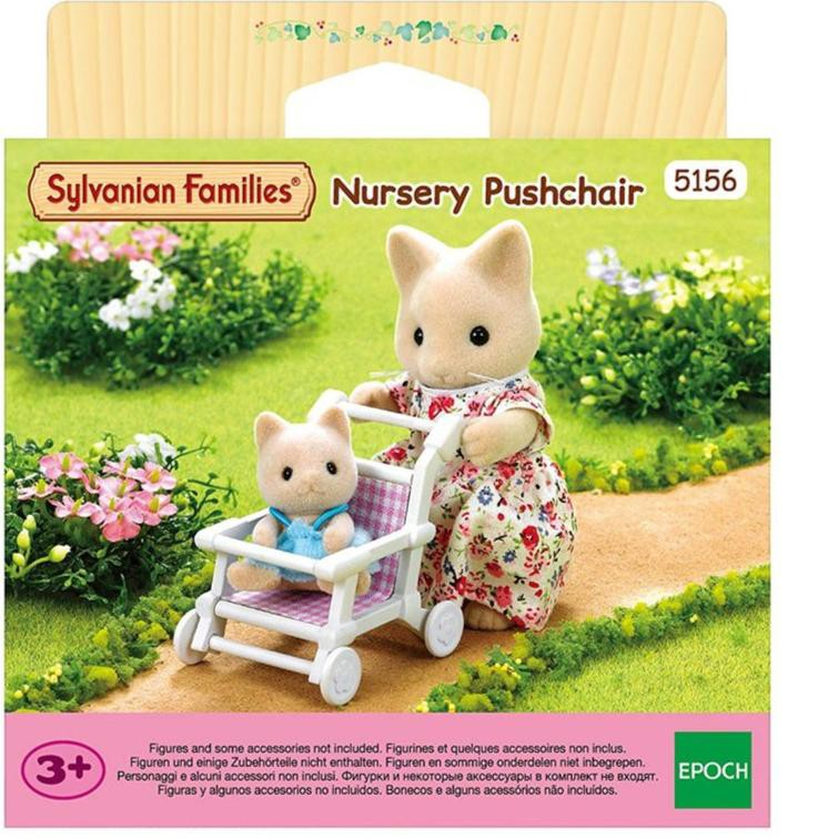 Sylvanian Families 5156 Nursery Pushchair