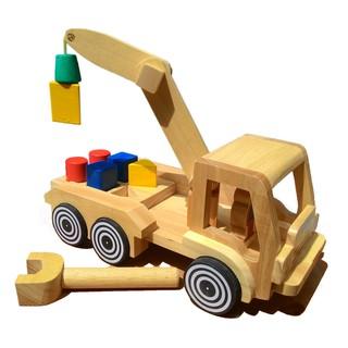 Mainan Kayu Edukasi - Nobie Truk Pengungkit