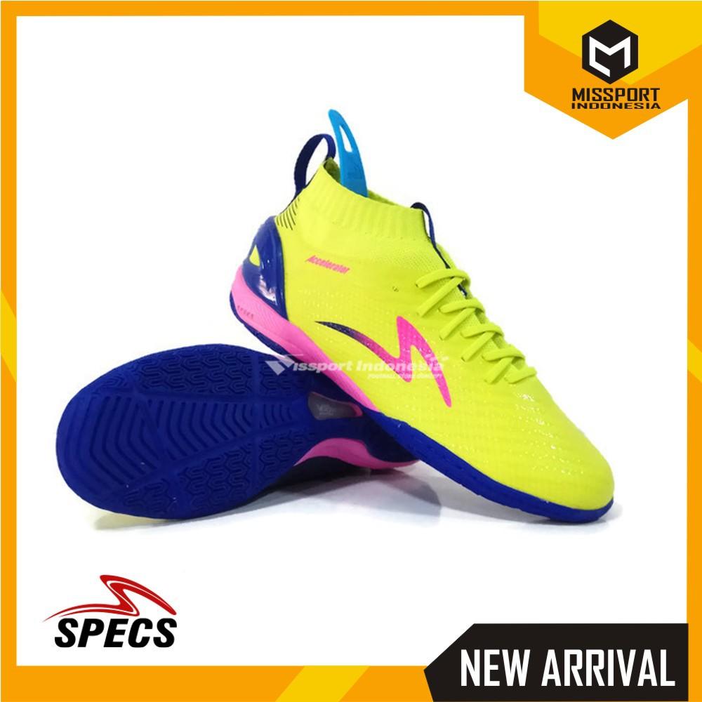 Sepatu Futsal SPECS ACCELERATOR INFINITY IN Solar Slime Original Promo  30e6afd068