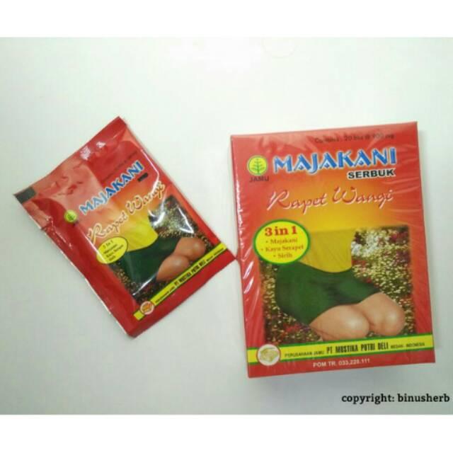 Majakani Rapet Wangi serbuk isi 20 bungkus( perawatan kewanitaan u keputihan,dll)   Shopee Indonesia