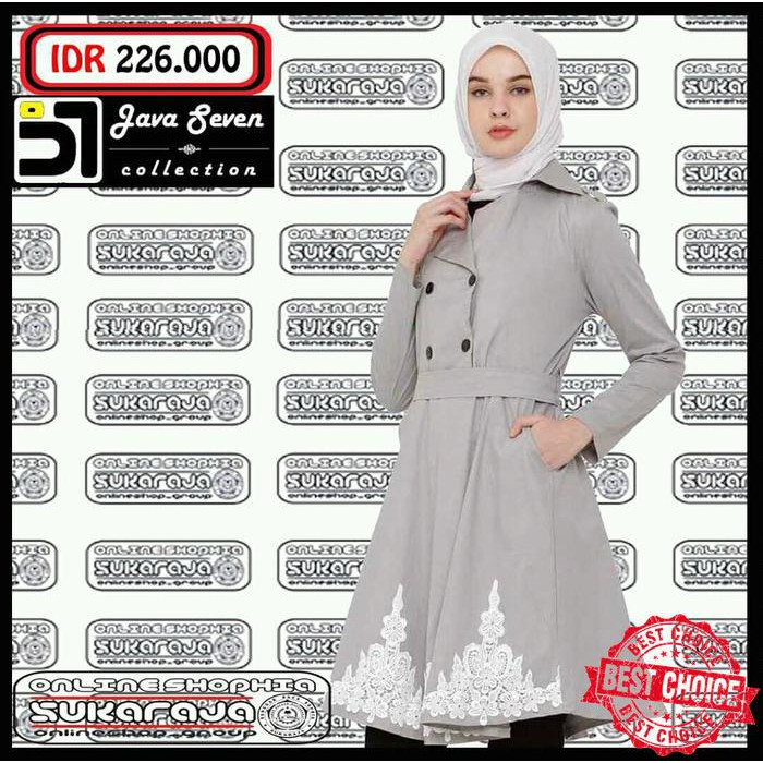 Baju Muslim Couple Java Seven ALY 317 & ALY 318   Baju Koko   Blouse Wanita   Muslim Sarimbit   Shopee Indonesia