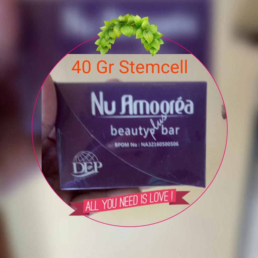 Nu Amoorea Stemcell 15 Gram Shopee Indonesia Stem Cell