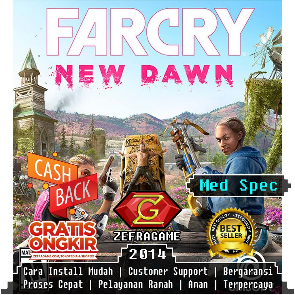 Farcry New Dawn Fc Nd Far Cry Nd Cd Dvd Game Pc Shopee Indonesia