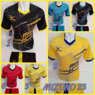 [ BEST SELLER ] Baju Kaos Olahraga Jersey Bola Setelan Futsal Volly Voli mz 23