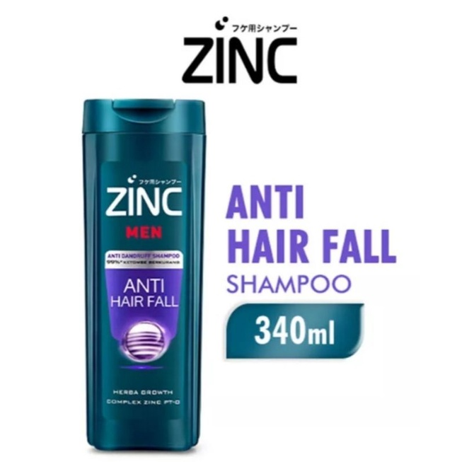 (340 ml) zinc shampoo botol besar-Men anti hairfall