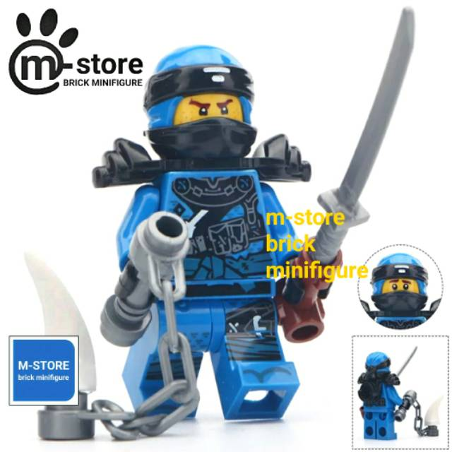 Lego Ninjago Hunted Jay Minifigure Save 36