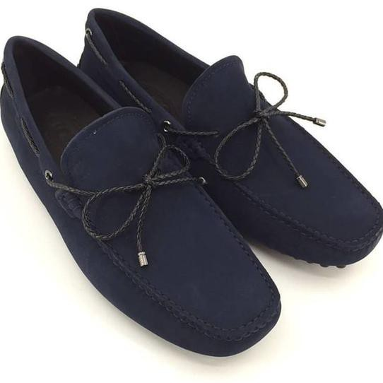 Berkualitas Jual Sepatu Tods Loafers Beige Cream Suede Mirror Quality Baru   e864824c44