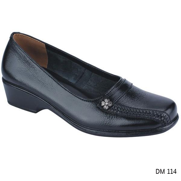 Sepatu Pantofel Wanita Coklat Sepatu Kerja Kulit Sepatu Formal Catenzo SM  278  f1eff3b0c9