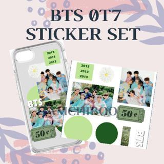 Diy Sticker Set Bts Group Aesthetic Tumblr Kpop Korea Boygroup Jin Rm Suga Jimin Jhope V Jungkook Hp Shopee Indonesia