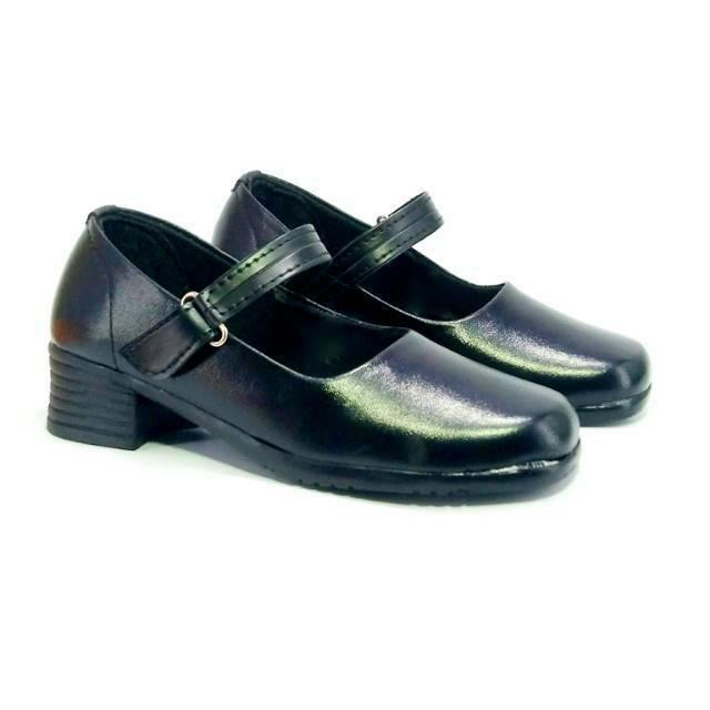 Sepatu Pantofel Hitam Polos Bisa Untuk Paskibra Cocok Untuk Anak Perempuan Sekolah Sd Sampai Sma Shopee Indonesia