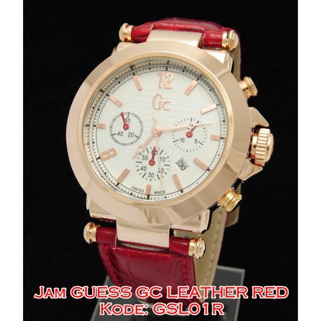 #JamCD702 GCL02 R Jam Tangan Wanita Gucci Leather Syahrini KULIT RED GCL02R | Shopee Indonesia