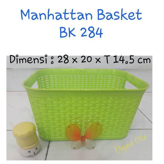 Keranjang Pernak Pernik Serba Guna Storage Basket 251x199x105 mm N588   Shopee Indonesia