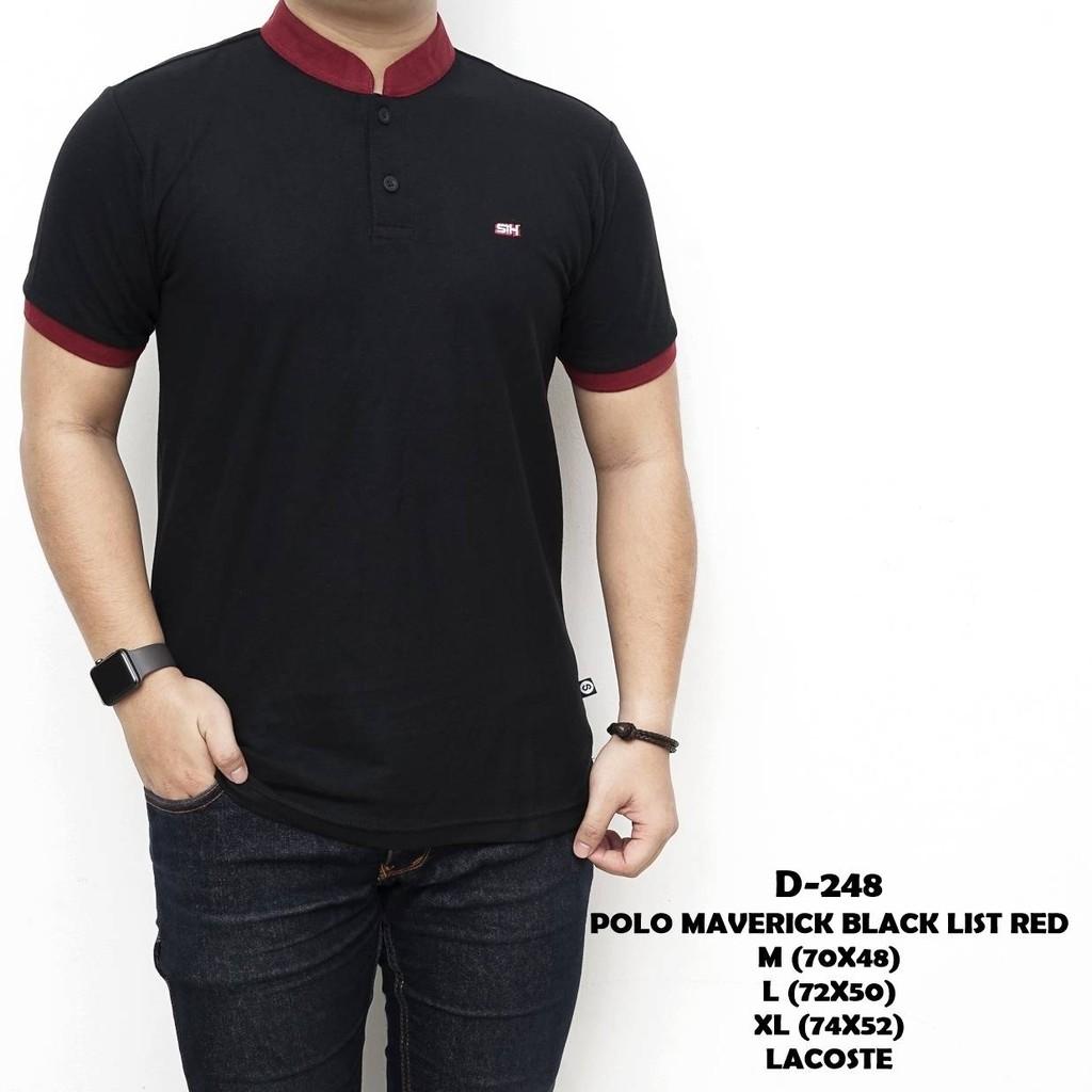 Polo Shirt Pria Kaos Kerah Cowok Slimfit Impor Import AS-15  da6b9954a1
