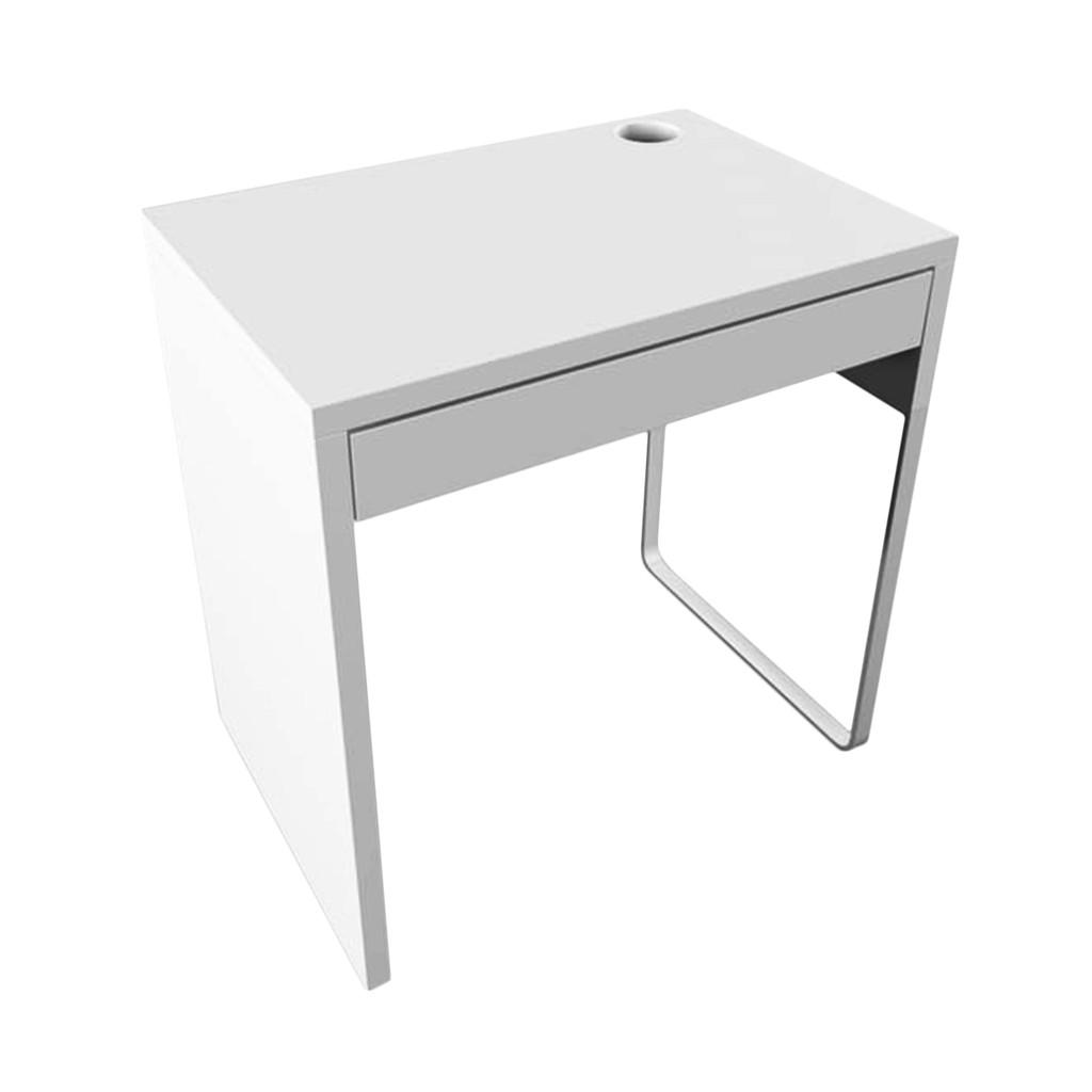 Micke Meja 73x50 Cm Komputer Putih