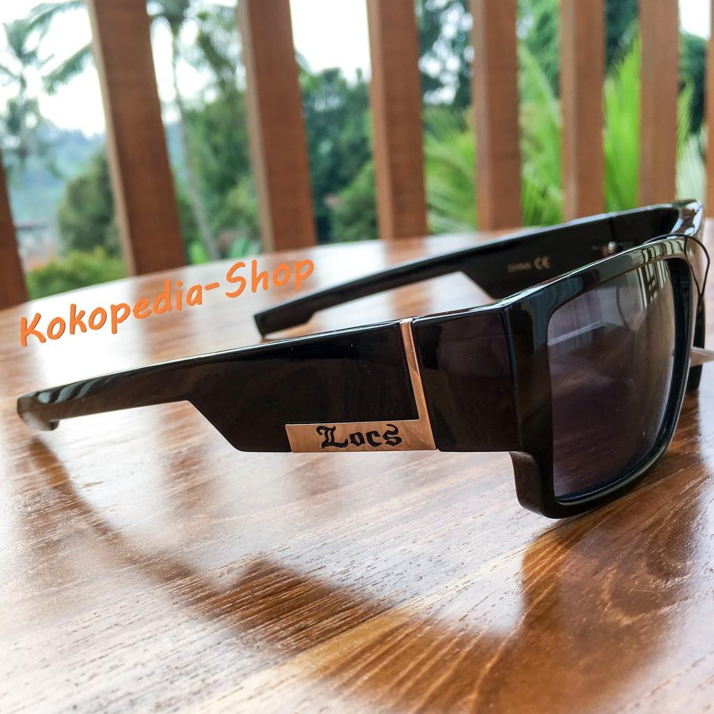 dfa556625b5 Kacamata LOCS Sunglasses Hardcore Shades ORIGINAL Black Color II ...