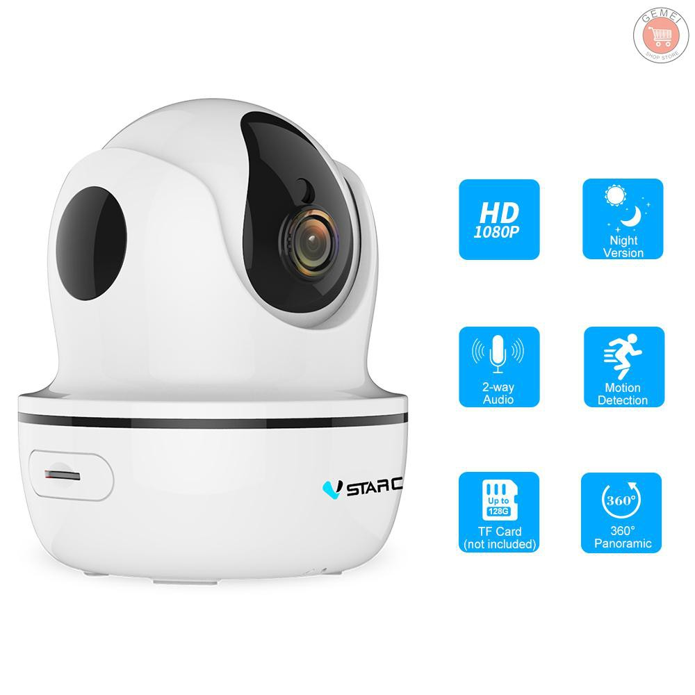 Vstarcam D93S HD IP Camera 1080P HD P2P WIFI Indoor View IR-Cut P2P Night Vision
