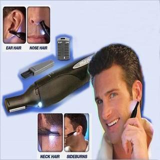 Micro Touch Trim Hair Alat Cukur Rambut Halus Alis Bulu Hidung Telinga  55b842671d