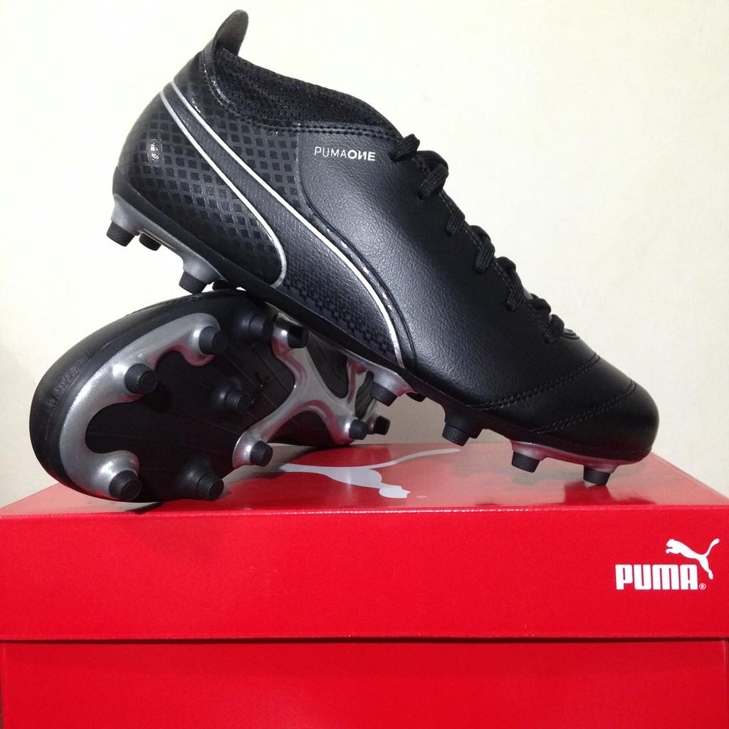 Sepatu Soccer Puma One 17.4 FG Black 104075-04 Original BNIB ... 960189268e