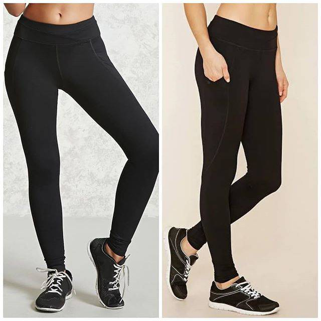 Legging Hitam Kantong Forever 21 Black Pocket Legging Forever 21 Shopee Indonesia