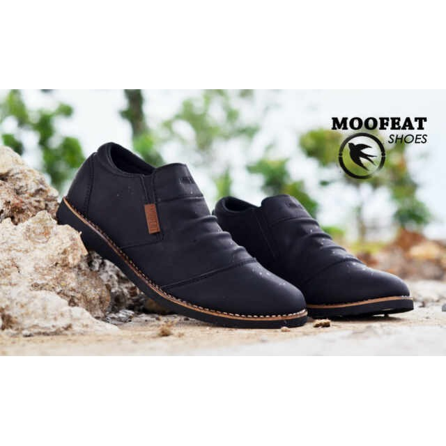 Sepatu Casual Slip On   Loafers Moofeat Moccasin Pria Murah - Sneakers -  Slop - Fashion - Original  591bc1420d
