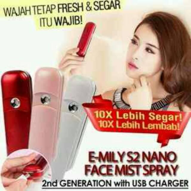 Ready Nano Mist Spray Emily Emili Nano Spray Nano Mist Emily Nano Spray Emil Berkualitas | Shopee Indonesia