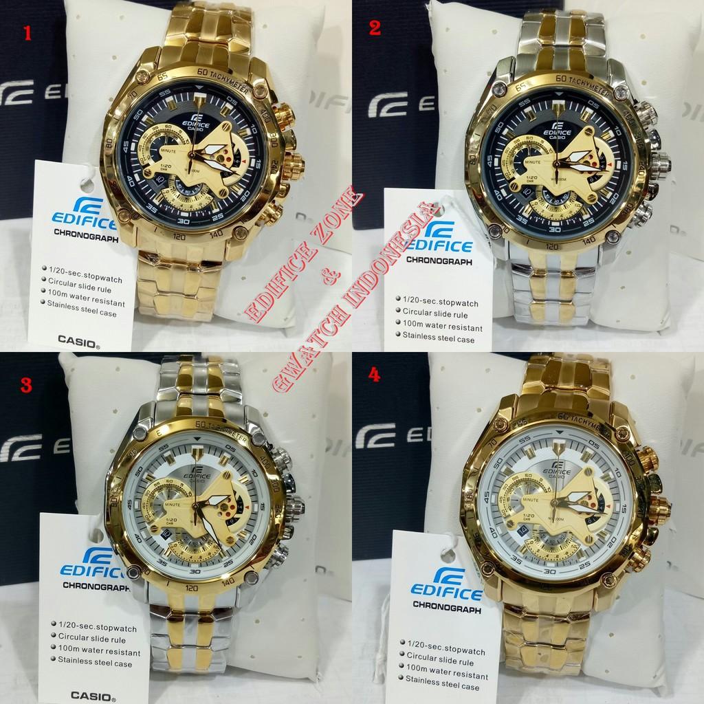 Harga Jual Jam Tangan Pria Casio Edifice Efr 539 Chronograph Beside Bem 109d 1avdf Stainless Steel Black Ef 550 Gold Promo New Diskon